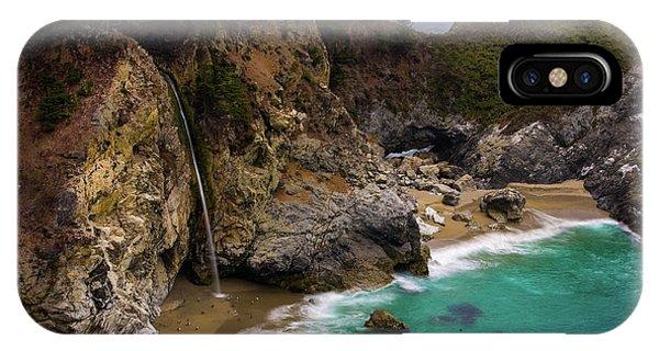 Big Sur Waterfall IPhone Case