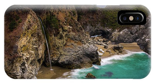 Big Sur Waterfall IPhone Case