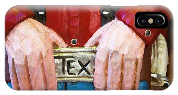 Big Tex IPhone Case