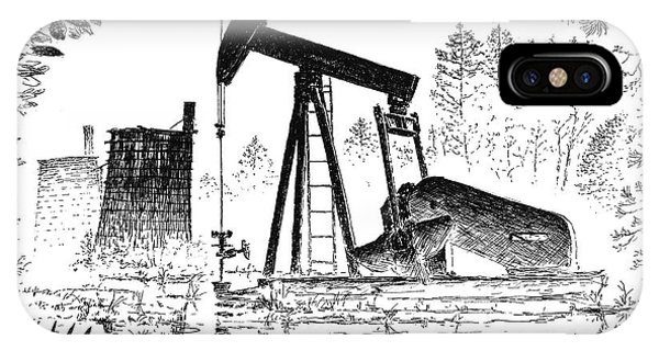 Big Thicket Oilfield IPhone Case