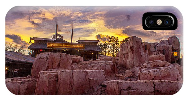 Big Thunder Mountain Sunset IPhone Case