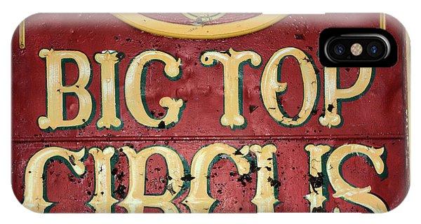 Big Top Circus IPhone Case