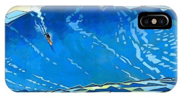 Waves iPhone Case - Big Wave by Douglas Simonson