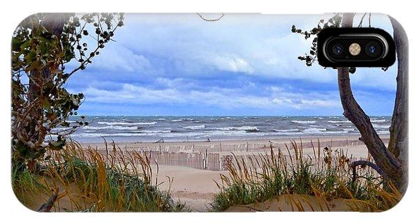 Big Waves On Lake Michigan 2.0 IPhone Case