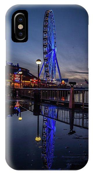 Big Wheel Reflection IPhone Case