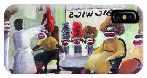 Big Wigs And False Teeth IPhone Case