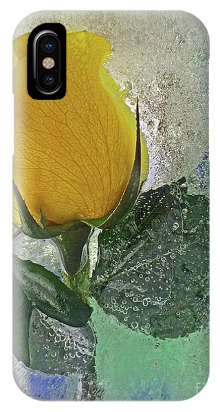 Big Yellow IPhone Case