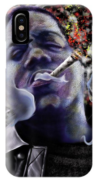 Biggie - Burning Lights 5 IPhone Case