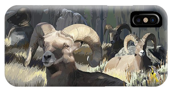 Bighorn Boys IPhone Case