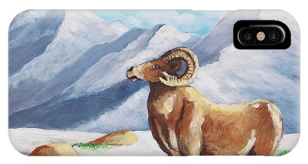 Bighorn Kam IPhone Case