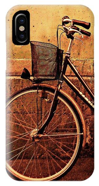 Bicycle At Rest, Paris  IPhone Case