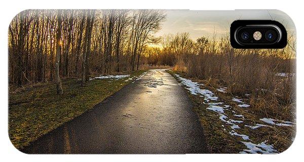 Bike Path  IPhone Case