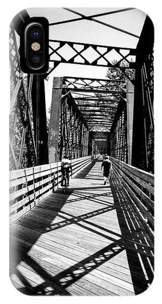 Bike Path Bridge Phone Case by JMerrickMedia