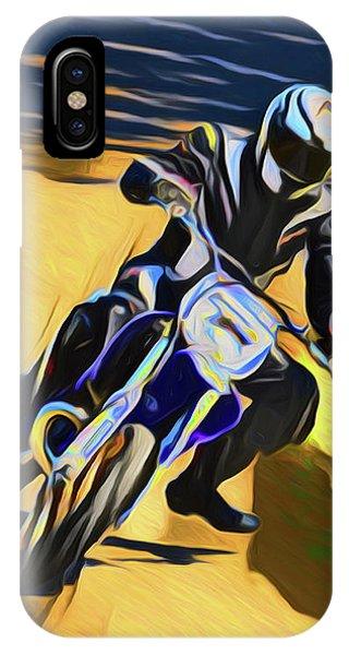 Biker 21018 IPhone Case