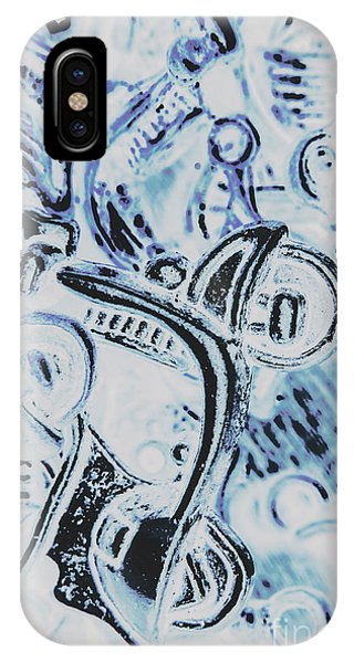 Pop-culture iPhone Case - Bikes And Blue Cities by Jorgo Photography - Wall Art Gallery