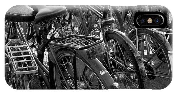 iPhone Case - Bikes by April Bielefeldt