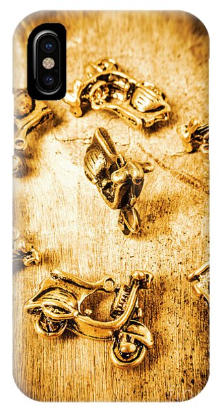 Object iPhone Case - Bikes From Antique Italy by Jorgo Photography - Wall Art Gallery