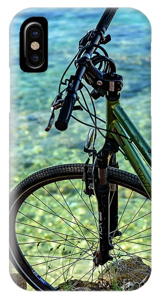 Biking The Rovinj Coastline - Rovinj, Istria, Croatia IPhone Case