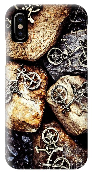 Biking Trail Scene IPhone Case