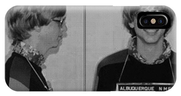 Bill Gates Mug Shot Horizontal Black And White IPhone Case