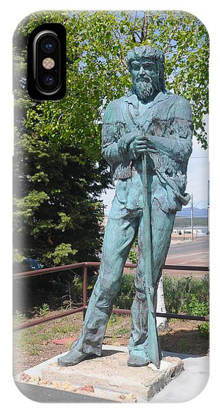 Bill Williams Statue IPhone Case