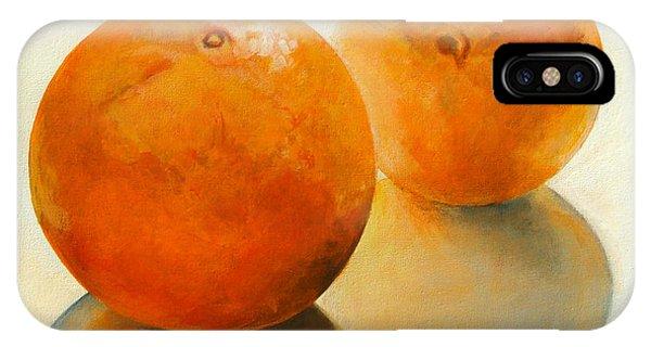 Billes Oranges Phone Case by Muriel Dolemieux