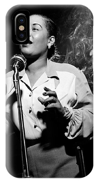 Billie Holiday  New York City Circa 1948 IPhone Case