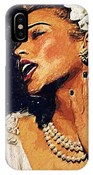 Harlem iPhone Case - Billie Holiday by Zapista