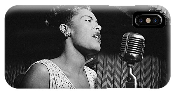 Billie Holiday William Gottlieb Photo New York City 1947 IPhone Case