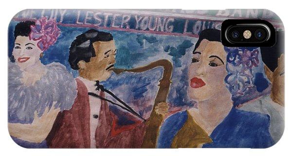 Billie's Brass Band IPhone Case