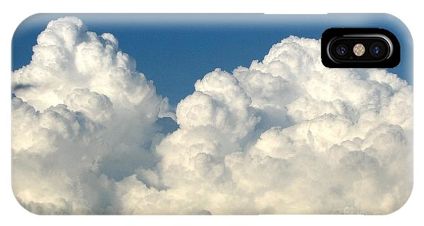 Billowing Clouds 1 IPhone Case