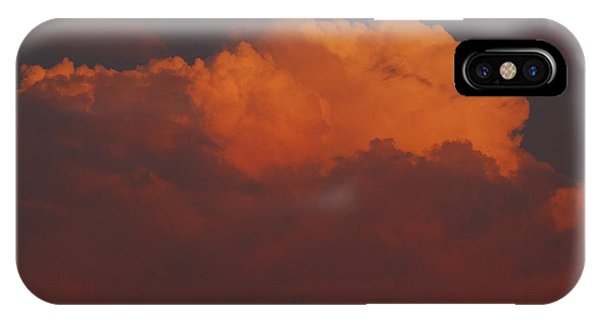 Billowing Clouds Sunset IPhone Case
