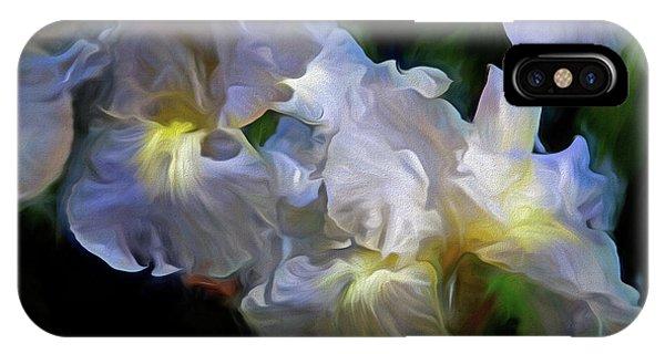 Billowing Irises IPhone Case