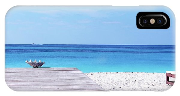 Bimini Beach Club IPhone Case