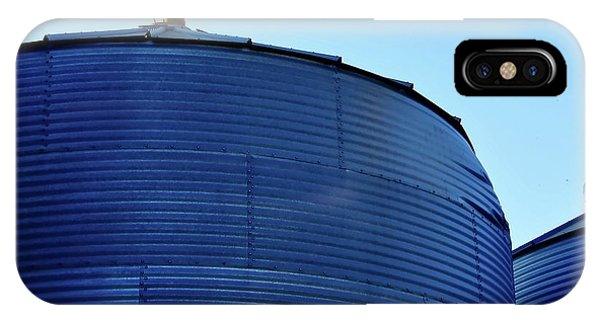 IPhone Case featuring the photograph Bin Roofline Grainbelt by Jerry Sodorff