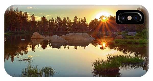 Kings Canyon iPhone Case - Binary Sunrise by Brian Knott Photography
