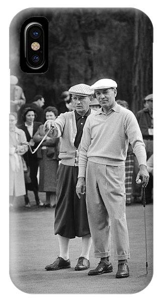Bing Crosby And Ben Hogan IPhone Case