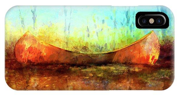 Birch Bark Canoe IPhone Case
