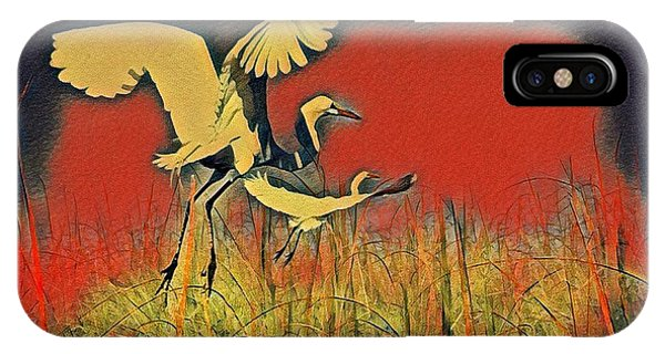 Bird Dreams IPhone Case