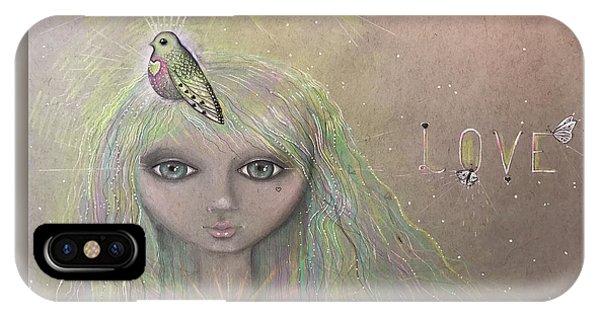 Bird From Spirit World  IPhone Case