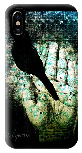 Bird In Hand IPhone Case