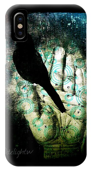 Bird In Hand IPhone Case