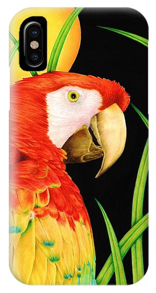Bird In Paradise IPhone Case