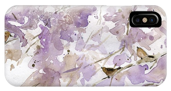 Airy iPhone Case - Bird In The Bush 2 by Carol Robinson
