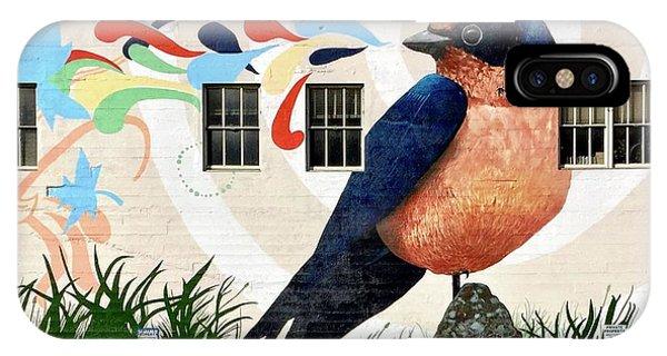 iPhone Case - Bird Mural by Julie Gebhardt