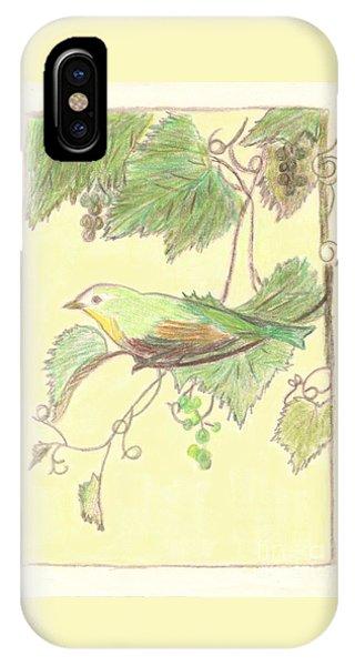 Bird On A Branch IPhone Case