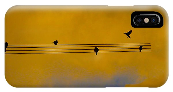 Bird Song IPhone Case