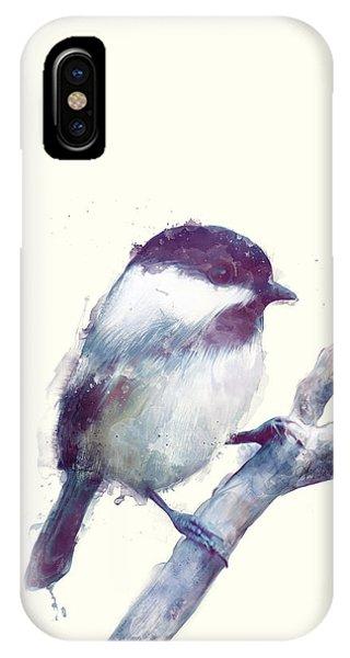 Bird iPhone Case - Bird // Trust by Amy Hamilton