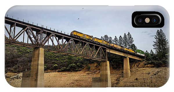 Bird Vs Train IPhone Case