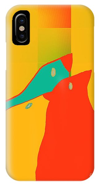 Aqua iPhone Case - Birdies - P01p2t6 by Variance Collections